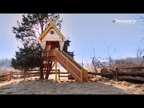 Solar Powered Spirit House | Treehouse Masters