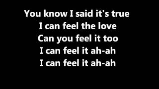 Rudimental Ft. John Newman Feel The Love (lyrics)