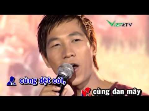 360cp Nắng Ấm Quê Hương Karaoke Beat   Anh Dũng ft Thu Hà