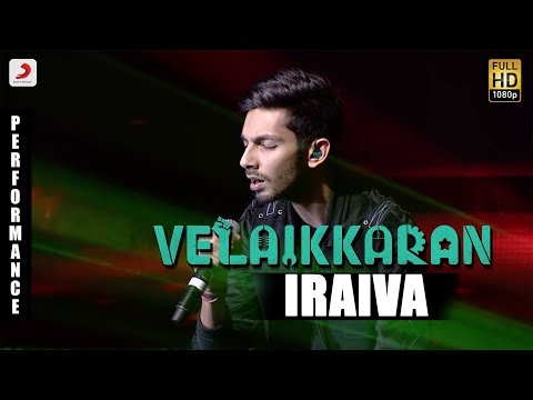 Velaikkaran Audio Launch - Anirudh Iraiva Performance