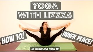 STRETCHING OUT! YOGA WITH LIZZZA! | Lizzza