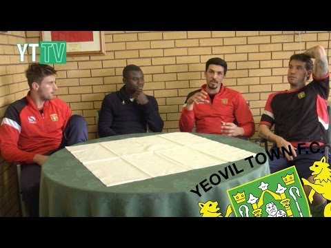 YEOVIL TOWN WORLD CUP PANEL AT HUISH PARK