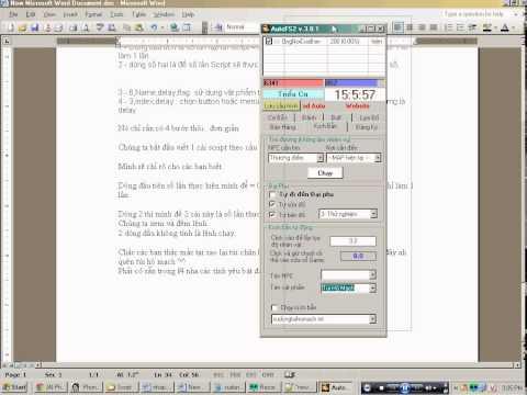 Hướng dẫn tạo Script Auto Game Phong Thần - sử dụng vật phẩm