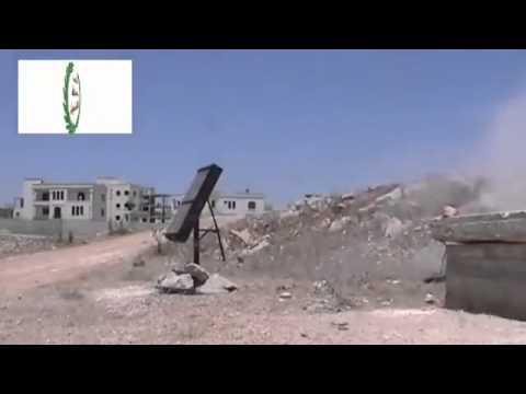 Al qaida in Syria Using New Rockets At Syrians