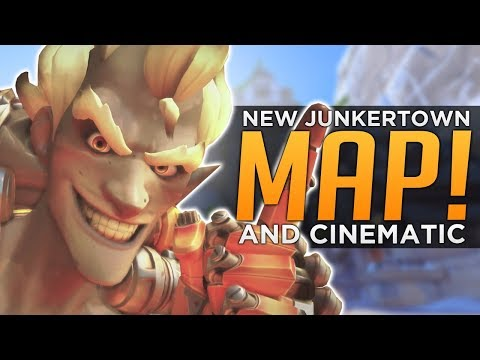 Overwatch: NEW Map Junkertown & Cinematic! - Gameplay & Animated Short SOON!