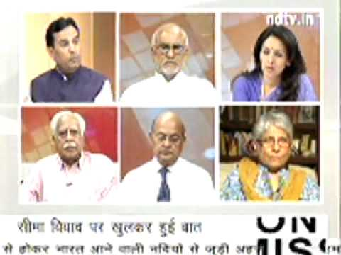 Captain Abhimanyu in Debate of NDTV on 20 May Part 1