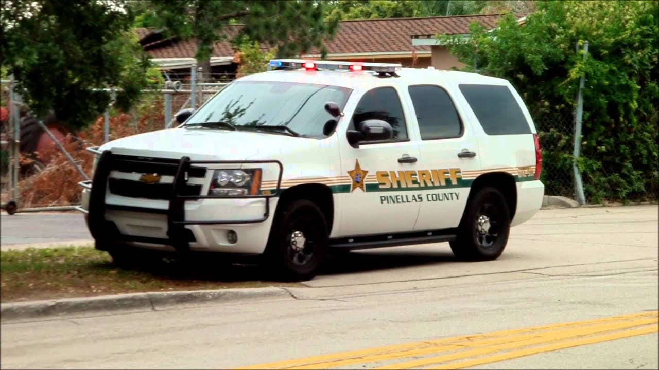 Pinellas County Sheriff Chevrolet Tahoe - YouTube