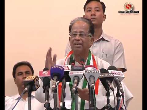 Tarun Gogoi r Press Meet
