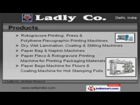 Printing & Lamination Machines by Ladly Co., New Delhi