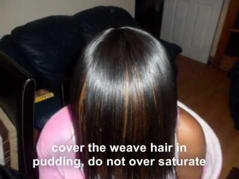 Full sew in Weave - tutorial - Braid pattern to closure - No Glue ...
