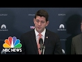 Paul Ryan: President Trump 'Made Right Decision' To Ask For Michael Flynn's Resignation | NBC News