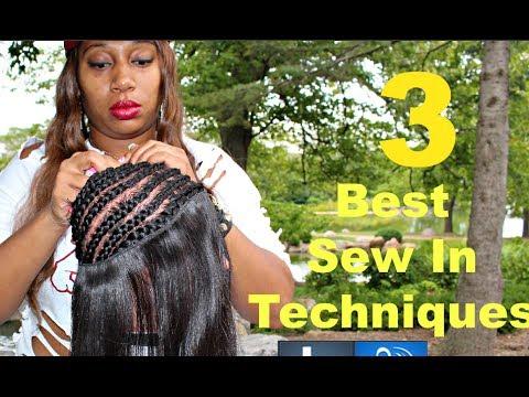 Celebrity Sew In Braid Pattern | LONG HAIRSTYLES