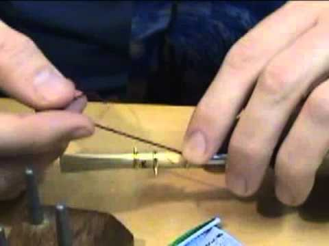 Bassoon Reed Making 5: Wrapping