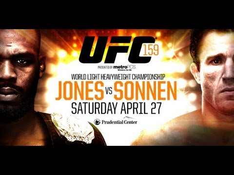 LUTA JON JONES VS CHAEL SONNEN