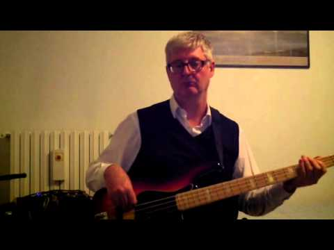 I Just Wanna Stop - Gino Vannelli - bass cover (Fender jazz bass '78).MOV