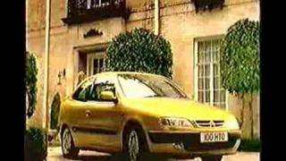 A Citroen Xsara & Claudia Schiffer
