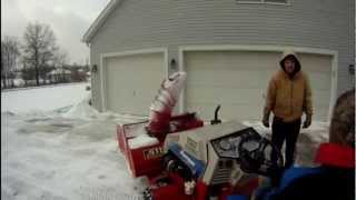 Turbo Diesel Snow Blower