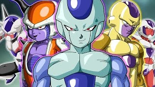 All Of Frieza's Race Forms And Transformations