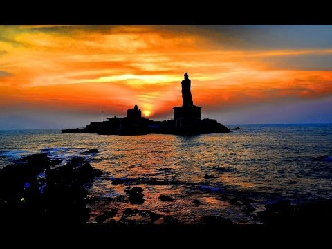 Religious places in INDIA.  Kanyakumari,Auroville,Puttaparthi.