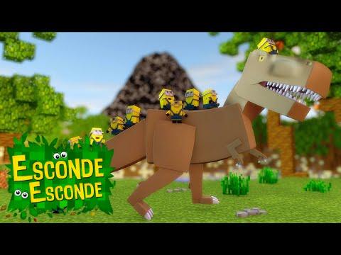 Minecraft: MINIONS - O FILME! (Esconde-Esconde)