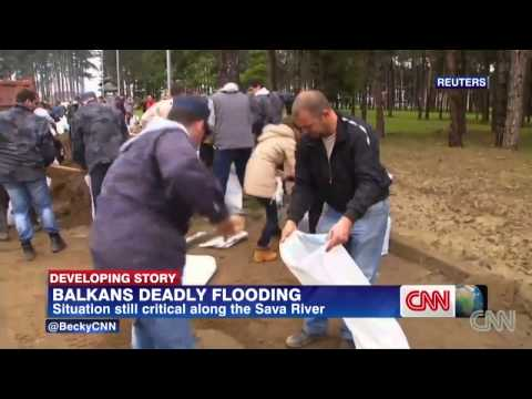 Historic Floods : Worst Flooding in more than a Century hits Eastern Europe May 19, 2014