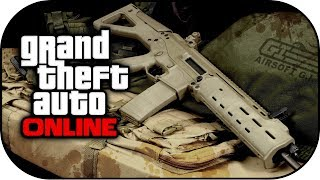 GTA 5 Heist New Leaked DLC Weapons,Scar, MG & More
