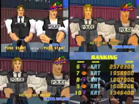 Virtua Cop opening demo comparison