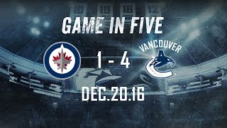 Canucks vs Jets Game in Five (Dec. 20, 2016)
