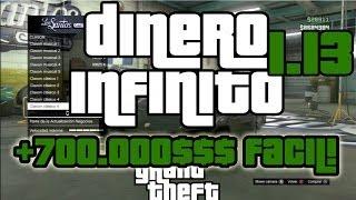 GTA 5 ONLINE 1.13 DINERO INFINITO +700.000$ NUEVO TRUCO