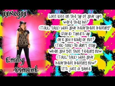 Emily Osment - Truth Or Dare With Lyrics - YouTube