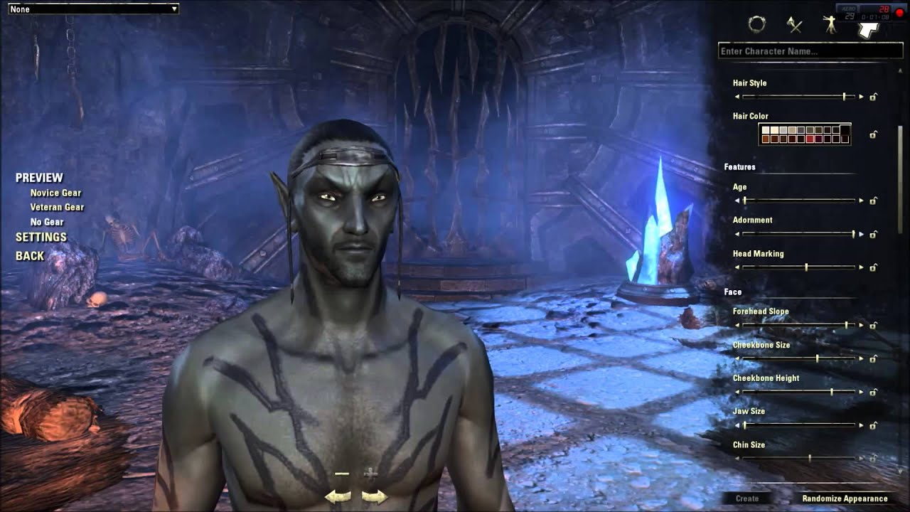 Teso Character Builder