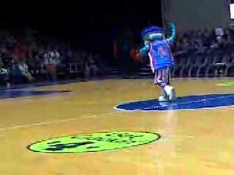 Mascotte Harlem Globe Trotters Micheal Jackson billie jean