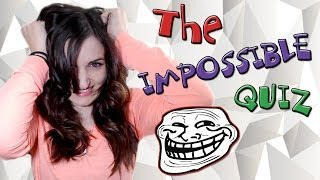 The Impossible Quiz (Rage Game - Trolled)