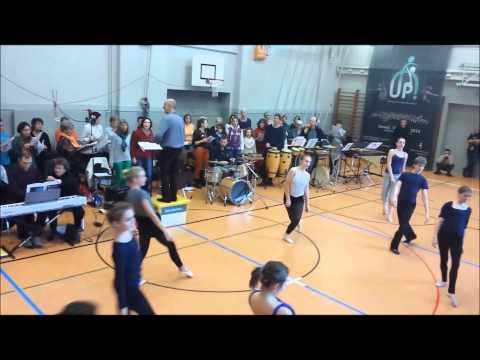 GALA SPORT UP - Répétition avec les danseurs - Raindance