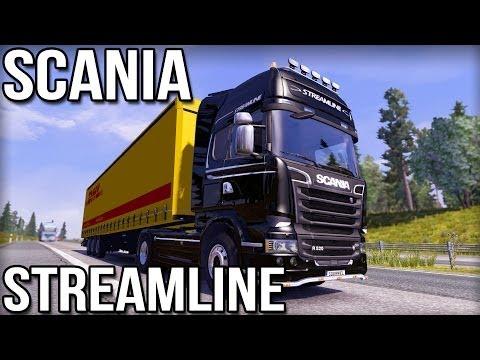 Scania Streamline (New in 1.8 Euro Truck Simulator 2)