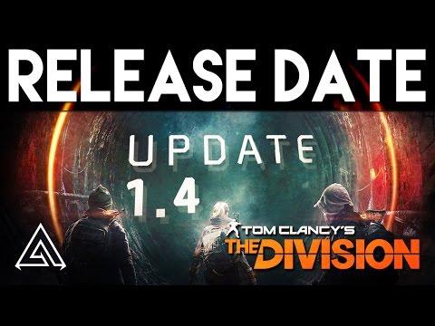 Обновление 1.4 для The Division уже скоро