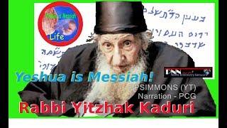 "Orthodox Rabbi Reveals Name Of Messiah Is ""JESUS""(Yehoshua"
