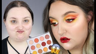 HOT FIRE CUT CREASE | NEW! Colourpop YES PLEASE Tutorial + TESTING NEW MAKEUP