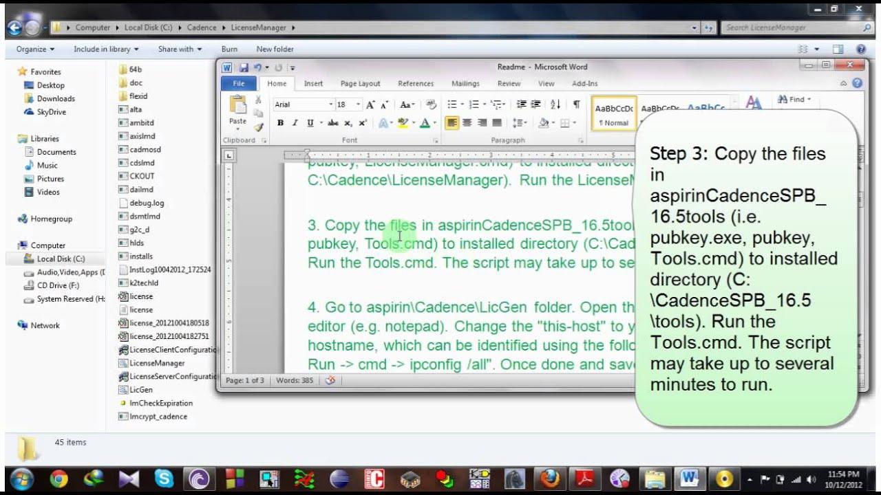 Orcad 16.5 Installation Method - YouTube