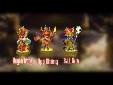 Trailer game Đại Náo Thiên Cung - VTC Mobile