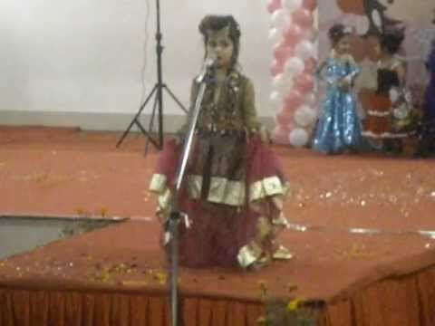 Tanushka Chawla.. Winner of Fashion Show 2012-2013, Mother's Pride..Munirka Branch