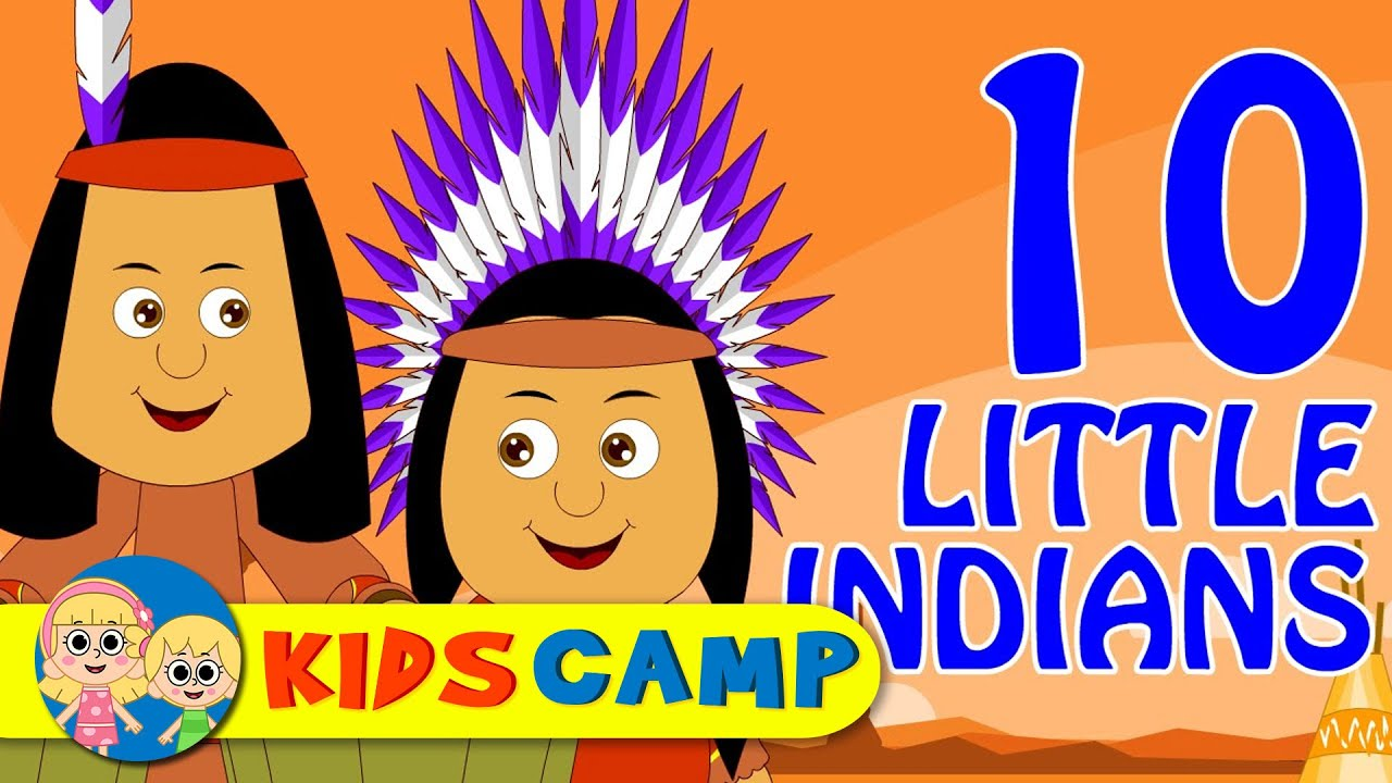 Ten Little Indians - Nursery Rhymes