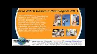 Reciclagem do Curso NR10 B�sico   - youtube