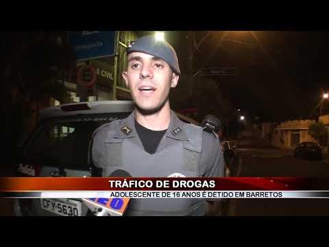 25/06/2019 - Adolescente de 16 anos é apreendido por tráfico de drogas em Barretos pela equipe da Força Tática