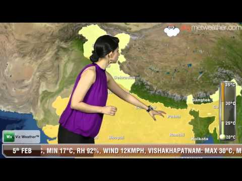 05/02/14 - Skymet Weather Report for India