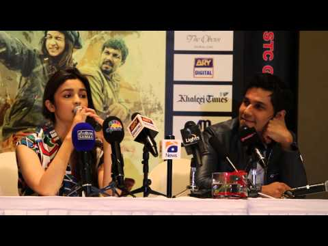 Randeep Hooda and Alia Bhatt Interview / Press Conference in Dubai
