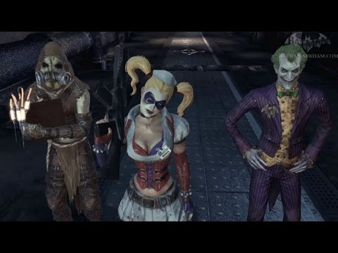 Batman: Arkham Asylum Walkthrough - Chapter 43 - Fear of a Bat