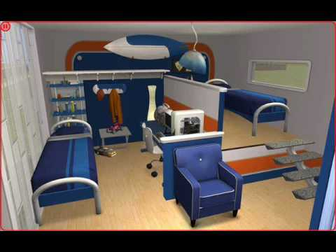 The sims 2 bedroom ideas youtube for Sims 4 bedroom ideas