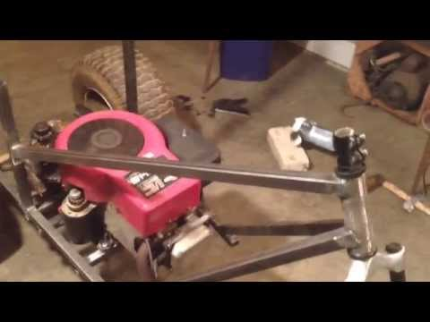 Home made shifter trike 14.5HP  part 1