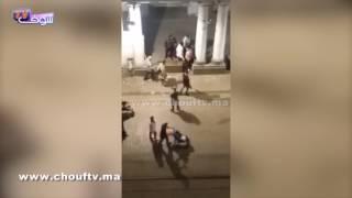 بالفيديو..سكران قتل صاحبتو بالعصا فكازا بالليل و الناس كَيْفكو |